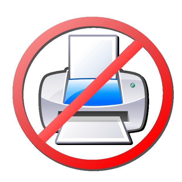 no-printer